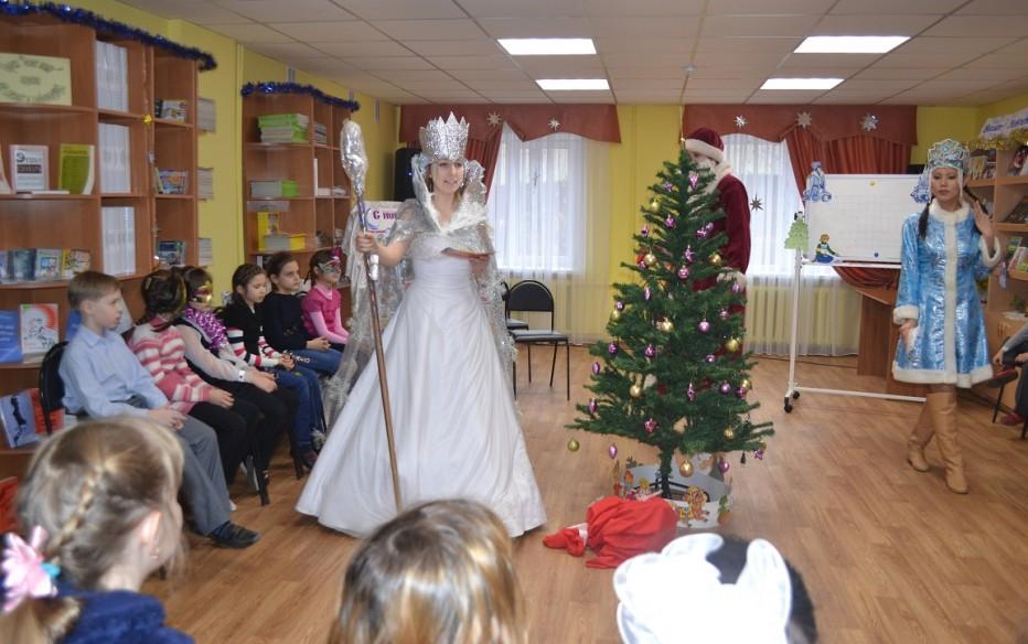 Новогодняя сказка в Театре книги