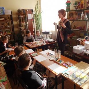 Клуб прикладного творчества «Живая старина» приглашает в библиотеку