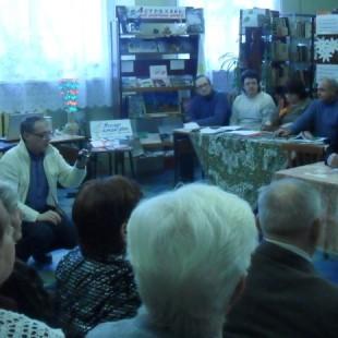 Объединение «Ковчег» в гостях у библиотеки