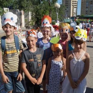 «Читающий район» для детей Астрахани