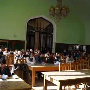 Центральная городская библиотека на семинаре