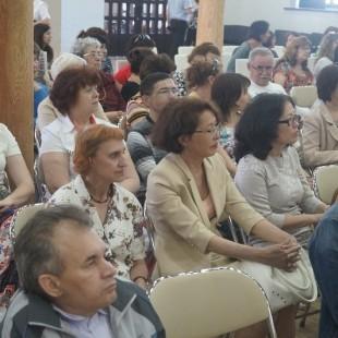 Библиотекари ЦГБС посетили торжественный прием ко Дню библиотек
