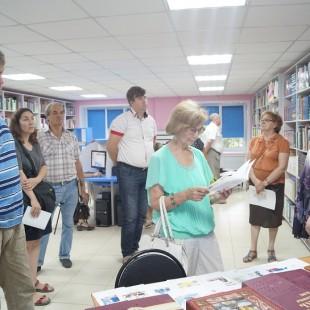 Члены общественного совета посетили Центральную городскую библиотеку