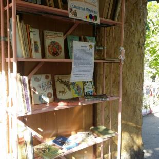 Буккроссинг в парке «Аркадия» пользуется большим спросом