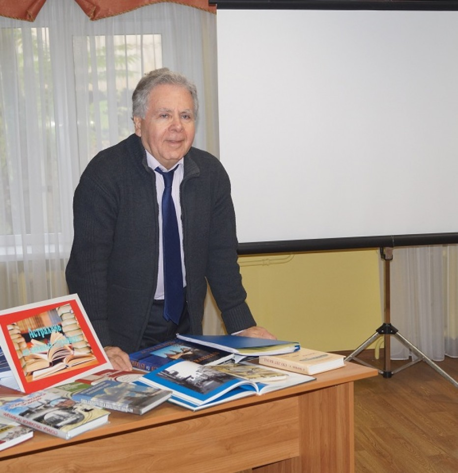 «Библиотечный журфикс» с Михаилом Френкелем