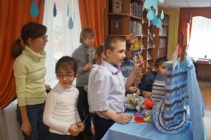 кукольный театр, дети, библиотека