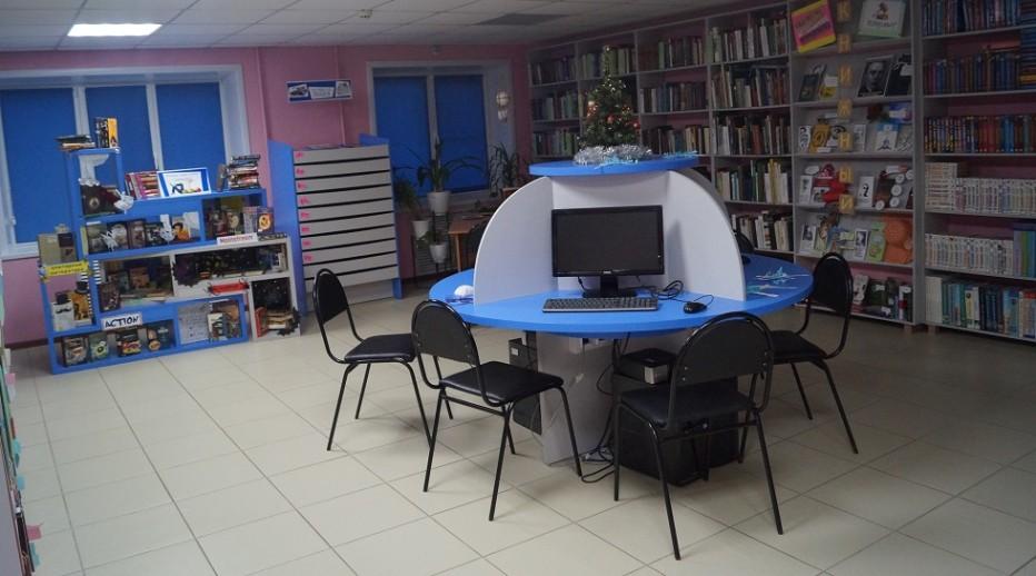 Экскурсия по обновленной библиотеке