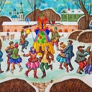 Приглашаем всех желающих на библио-ярмарку «Масленичные фантазии»!