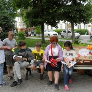 Открытие творческой площадки «Библиотечный open-air» — состоялось!