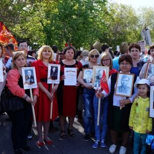 Сотрудники ЦГБС приняли участие в акции «Бессмертный полк»