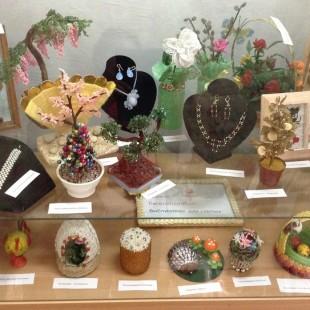 Приглашаем всех желающих посетить необыкновенную выставку декоративно-прикладного искусства