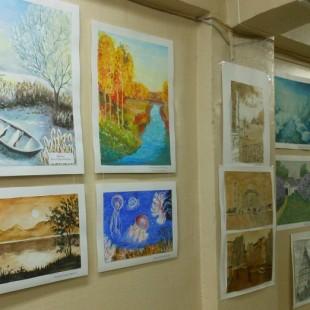 Успейте посетить новую выставку рисунков!