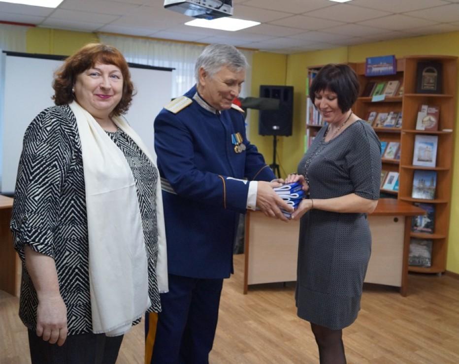 Астраханские казаки приняли участие в акции  «Подари новую книгу библиотеке»