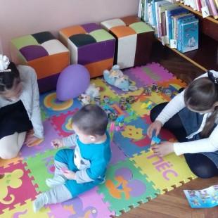В библиотеке-филиале № 15 состоялось открытие детской игровой зоны!