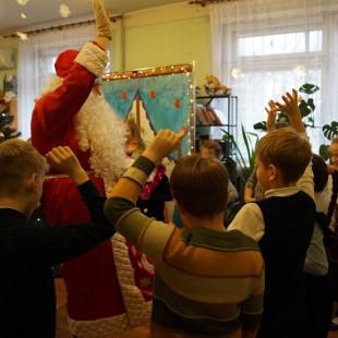 Новогоднее пати у Дедушки Мороза