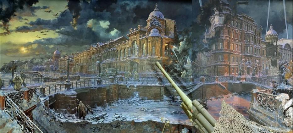 Ленинградский метроном. В ЦГБ отметили 75-летие снятия блокады