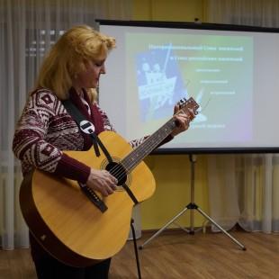 В Центральной городской библиотеке состоялся творческий вечер, посвященный возрождению литературного журнала «Зеленый луч»