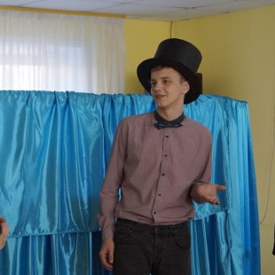 Участники проекта «Театр оживших страниц» представили дебютный спектакль