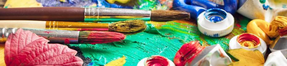 Творческая палитра «Весёлая кисточка, весёлый карандаш»