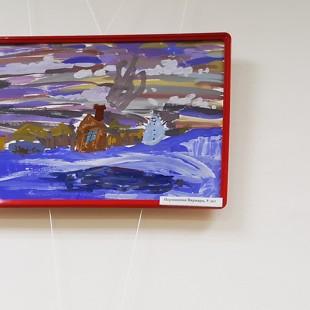 Библиотека-филиал №17 приглашает на выставку детских рисунков