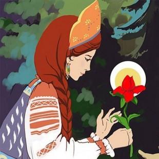 Час хорошей литературы «Аленький цветочек»